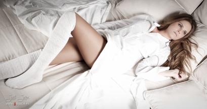 Sesión realizada a la modelo María Morales. Maquillaje Pilar Salgado